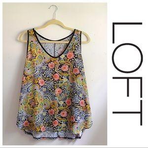 ✨ LOFT outlet sleeveless tank top blouse ✨